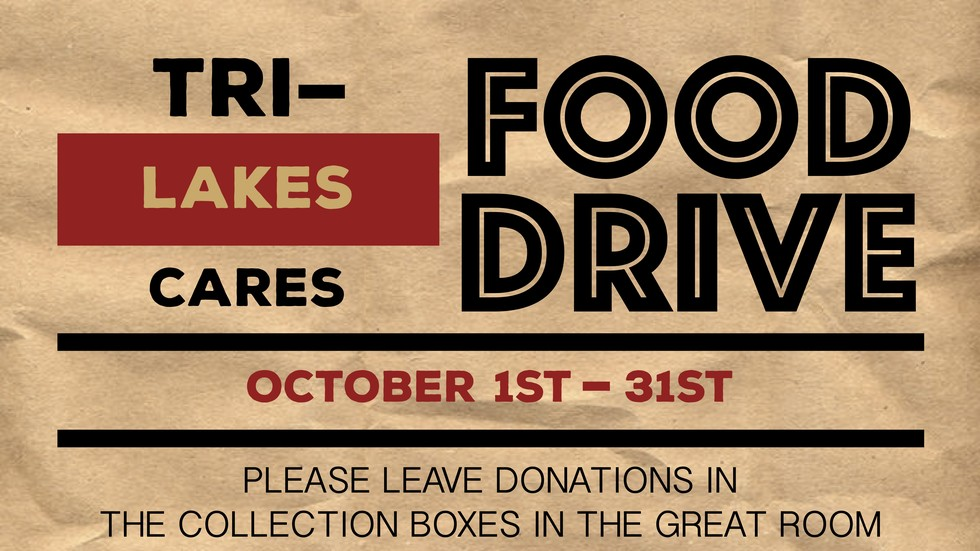 food drive poster 10.18.18
