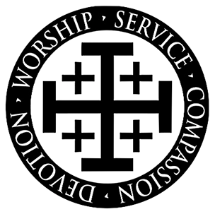 jerusalem cross logo