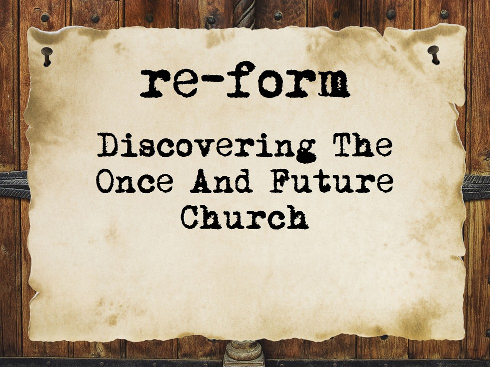 re form title slide