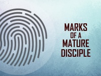 The Marks of A Mature Disciple: Generosity