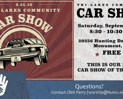 Tri-Lakes Community Car Show