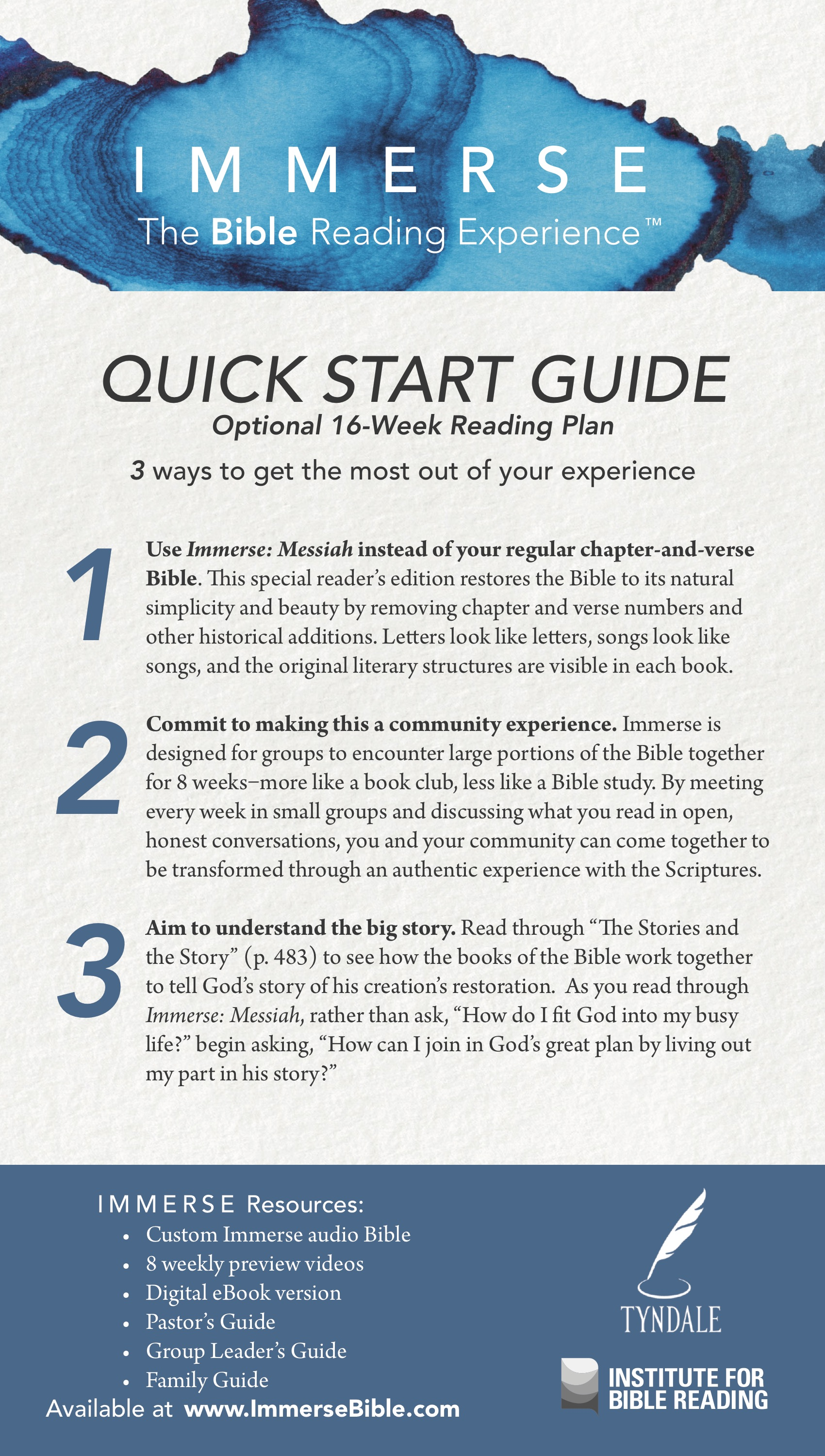 messiah quickstartguide 16week
