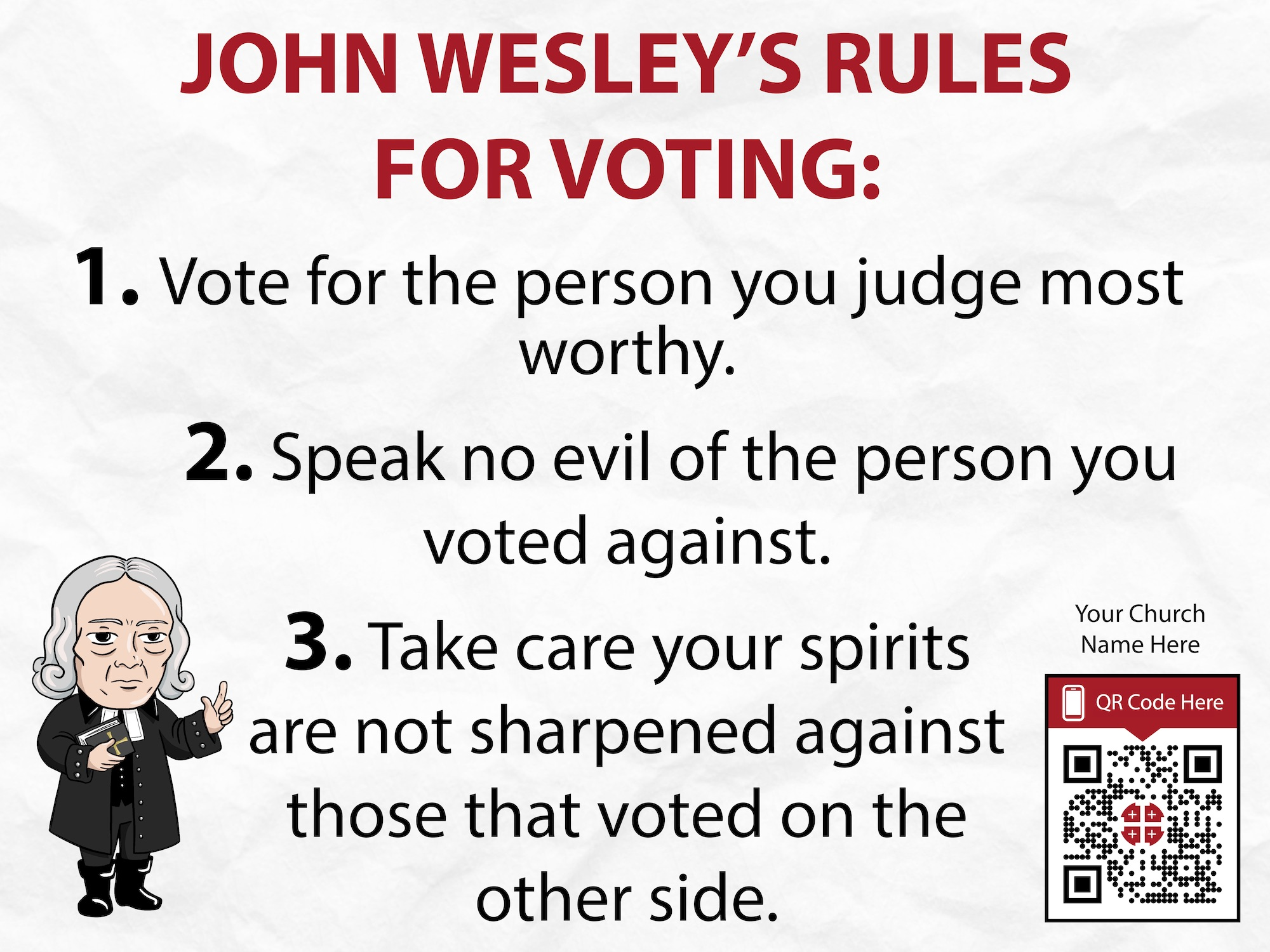 wesley political sign template 2