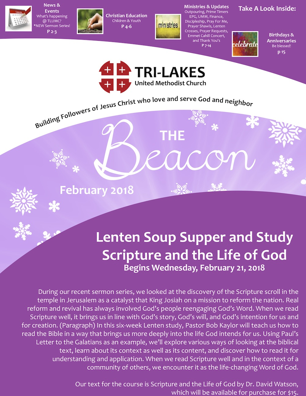 Monthly Beacon - February 2018