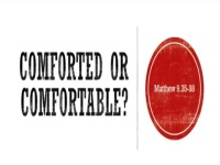 Comforted or Comfortable?