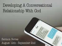 Developing a Conversational Relationship with God