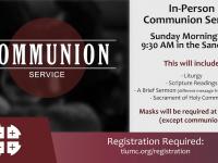 Communion Service 10.18