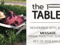 The Table - 11.15.20